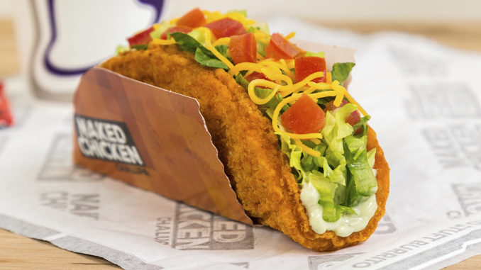 Taco Bell To Launch Naked Chicken Chalupa Nationwide On January 26, 2017