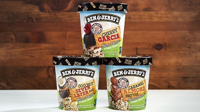 Ben And Jerry's Debuts 3 New Non-Dairy Flavors For 2017