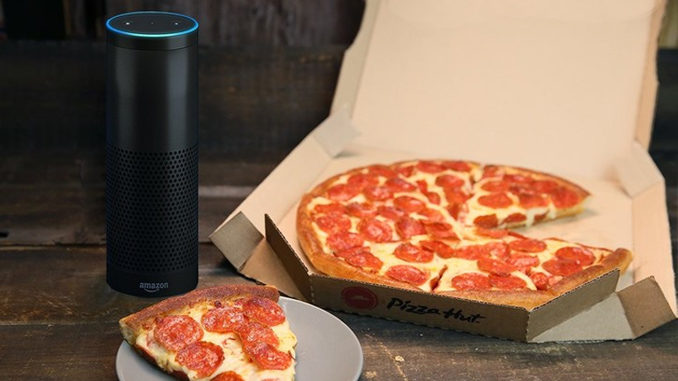 Get 30% Off At Pizza Hut When Placing Your Order With Amazon's Alexa Through February 16, 2017