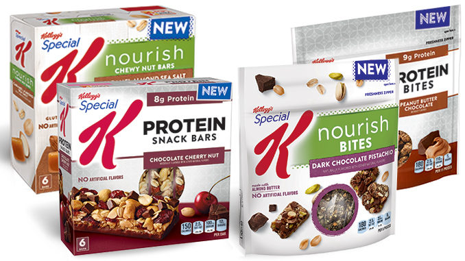 Kellogg's Adds New Special K Nourish And Protein Snack Bites