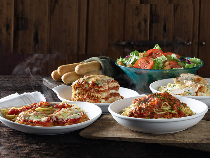 olive garden introduces new never ending classics chew boom