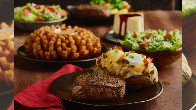 Outback's 2017 Valentine's Day Meal For 2 Is Bloomin' With Love