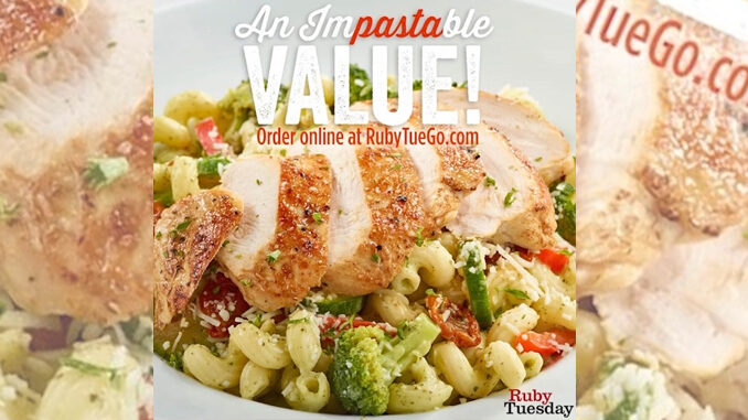 Ruby Tuesday Offers New Take-Out Family Pasta Bundles For Under $40