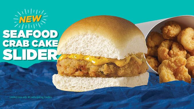 White Castle Seafood Crab Cake Slider