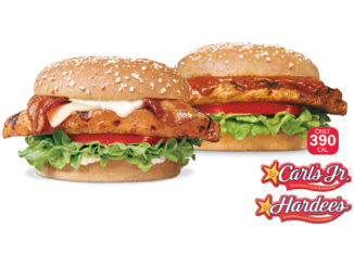 Carl's Jr. and Hardee's Serve Up New All-Natural Charbroiled Chicken Breast Fillet