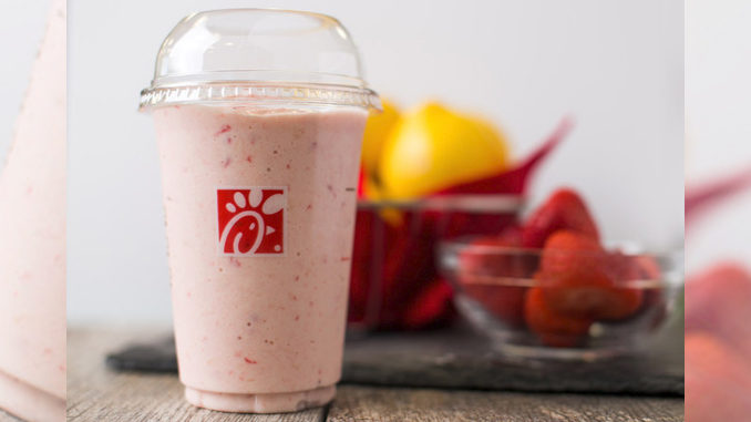 Chick-fil-A Introduces New Frosted Strawberry Lemonade