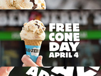 Free Cone Day At Ben & Jerry's April 4, 2017