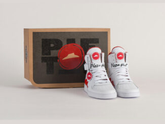 Pizza Hut Debuts Special-Edition Pie Tops Sneakers With Built-In Pizza Ordering Feature