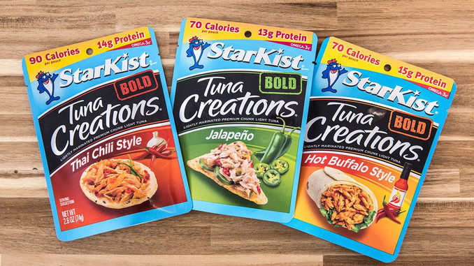 StarKist Introduces New Bold Single-Serve Tuna Creations Pouch Flavors