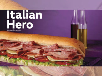 Subway Set To Launch The Italian Hero Nationwide