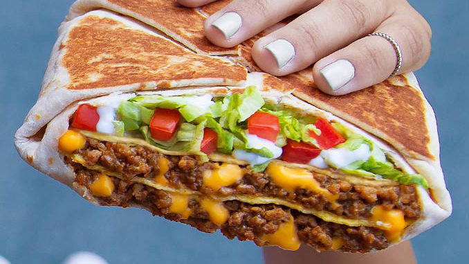 Taco Bell Brings Back The Triple Double Crunchwrap - Chew Boom