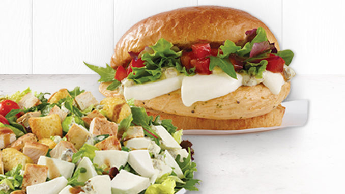 Wendy's Launches Fresh Mozzarella Chicken Sandwich And Salad Nationwide