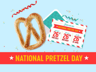 26-Cent Pretzels At Pretzelmaker On April 26, 2017
