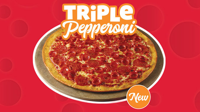 Chuck E. Cheese's Introduces New Triple Pepperoni Pizza