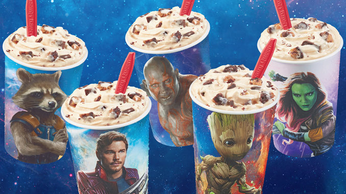 Dairy Queen Introduces New Guardians Awesome Mix Blizzard Treat