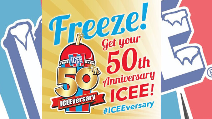 ICEE Celebrates 50th Birthday With New Flavors, Limited-Edition Packaging