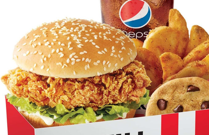 KFC Launches The Zinger Chicken Sandwich In United States