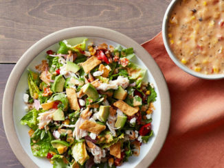 Panera Introduces New 2017 Spring Menu Featuring New Southwest Chile Lime Ranch Salad with Chicken