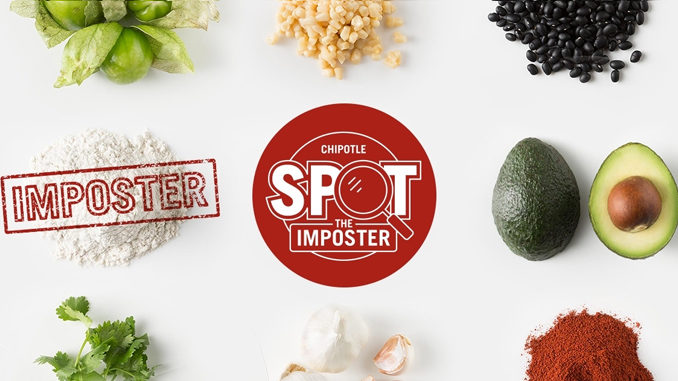 """Play Chipotle's New """"Spot the Imposter"""" Game And Win Free Chips And Guacamole"""
