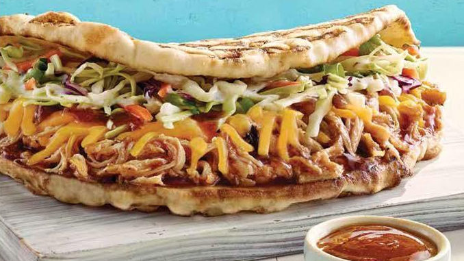 Tropical Smoothie Cafe Serves Up New Hawaiian BBQ Chicken Flatbread