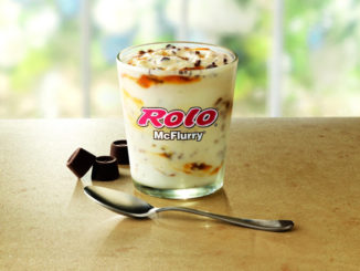 McDonald's Brings Back The Rolo McFlurry With New Vanilla Soft Serve