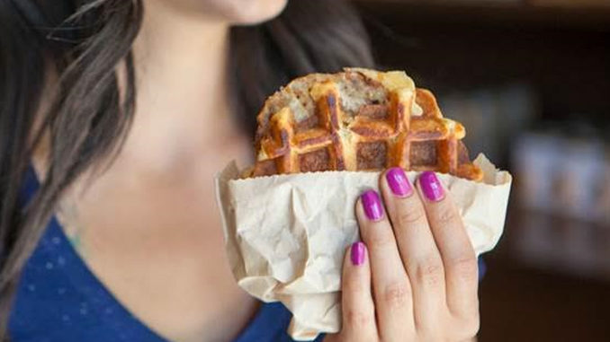 Peet's Introduces New Maple Waffle & Gouda Chicken Sandwich