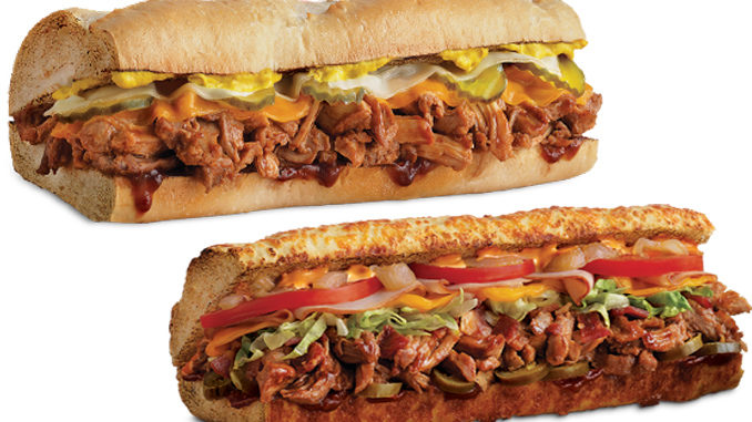 Quiznos Introduces New Spicy Chipotle and Southern Style Pulled Pork Subs