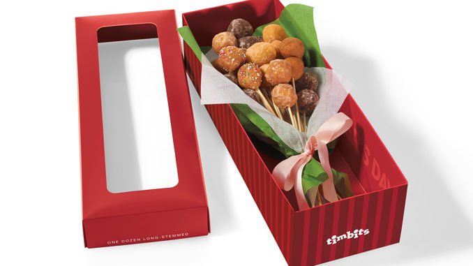 Tim Hortons Unveils New Timbits Donut Bouquet For Mother%E2%80%99s Day 2017 678x381 Tim Hortons Introduces New Timbits Donut Bouquet for Mothers Day