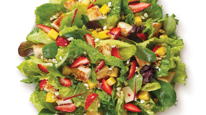 Wendy's Unveils New Strawberry Mango Chicken Salad
