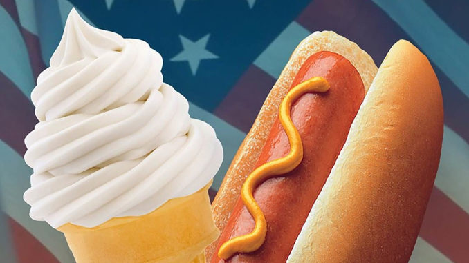 50-Cent Pups, Corn Pups And Cones At Krystal July 3-9, 2017