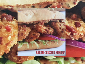 Arby's Spotted Testing New Bacon-Crusted Shrimp Po' Boy Sandwich