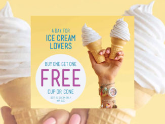 Buy One, Get One Free Soft-Serve Cup Or Cone At Carvel On July 16, 2017