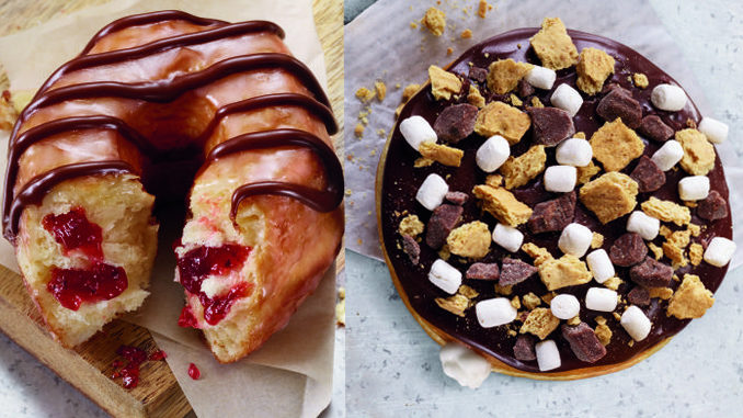 Dunkin' Donuts Unveils New S'mores Donut And Chocolate Drizzled Strawberry Croissant Donut