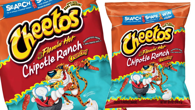Frito-Lay Launches Launches New Cheetos Flamin' Hot Chipotle Ranch Flavor