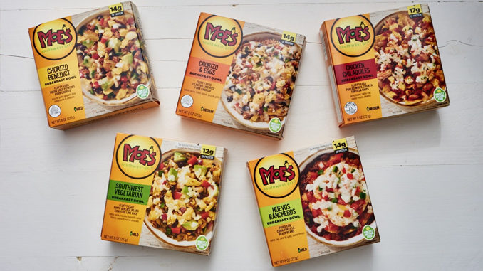 Moe's Southwest Grill Introduces New Frozen Breakfast Bowls