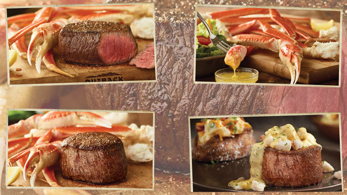 Snow Crab Is Back At Outback Steakhouse For A Limited Time