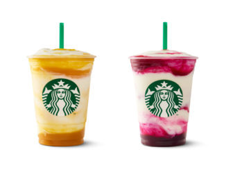 Starbucks Offers New Berry Prickly Pear And Mango Pineapple Frappuccino Blended Crème Beverages