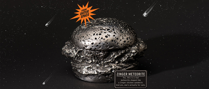 $20,000 Zinger-Shaped Meteorite
