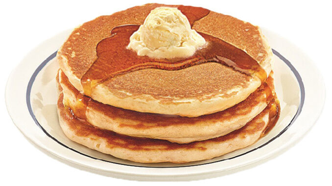59-Cent Short Stack Of Pancakes At IHOP On July 18, 2017