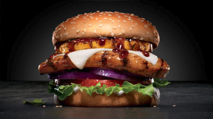 Carl's Jr. And Hardee's Add New Hawaiian Charbroiled Chicken Sandwich