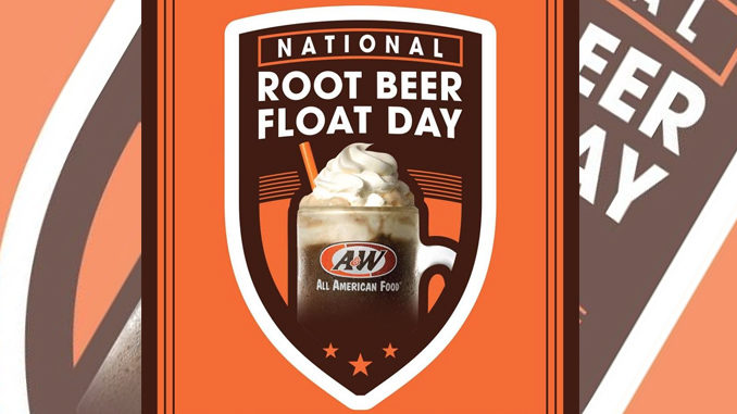 Free Root Beer Float At A&W On August 6, 2017 With Any Purchase