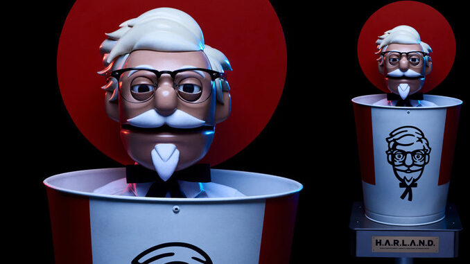 KFC Brings Robot Colonel Sanders To Drive-Thrus