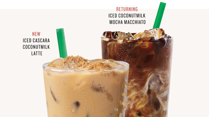 Starbucks Launches New Iced Cascara Coconutmilk Latte