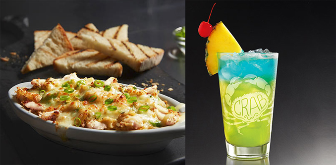 Three-Cheese Crab Dip and Crabfest Cooler