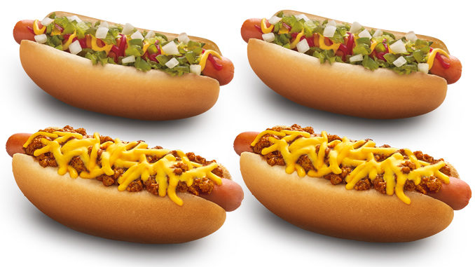 $1 Hot Dogs At Sonic On August 30, 2017