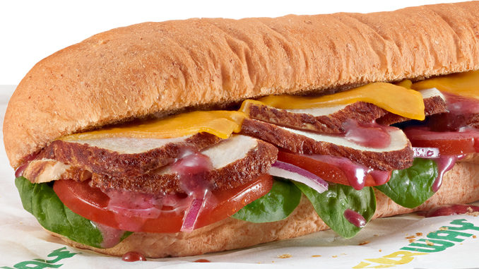 Autumn Carved Turkey Sandwich Returns To Subway On September 11, 2017