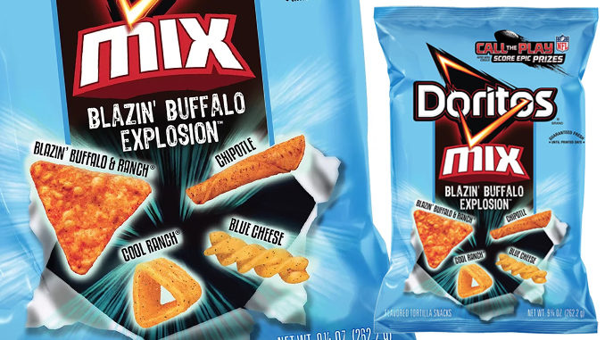 Doritos Just Dropped New Blazin' Buffalo Mix