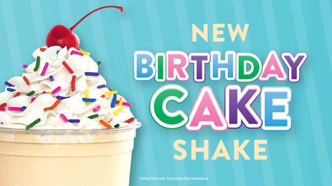 Jack In The Box Introduces New Birthday Cake Shake Chew Boom