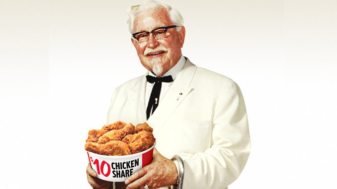KFC Brings Back The Real Colonel Sanders As Brand's Newest Celebrity Ambassador