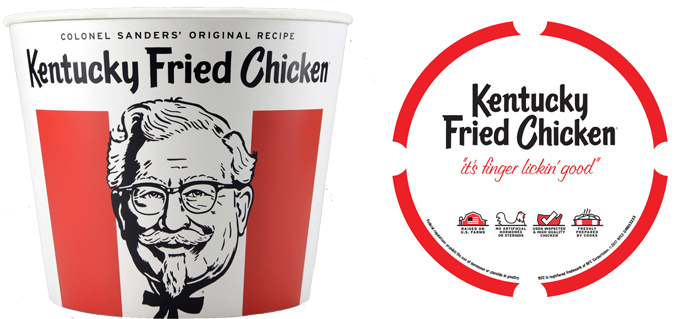 NEW KFC 2017 Colonel Sanders Bucket